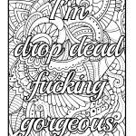 Word Coloring Book Awesome Amazon Be F Cking Awesome and Color An Adult Coloring Book