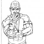 Wwe Coloring Picture Awesome Wwe Coloring Pages