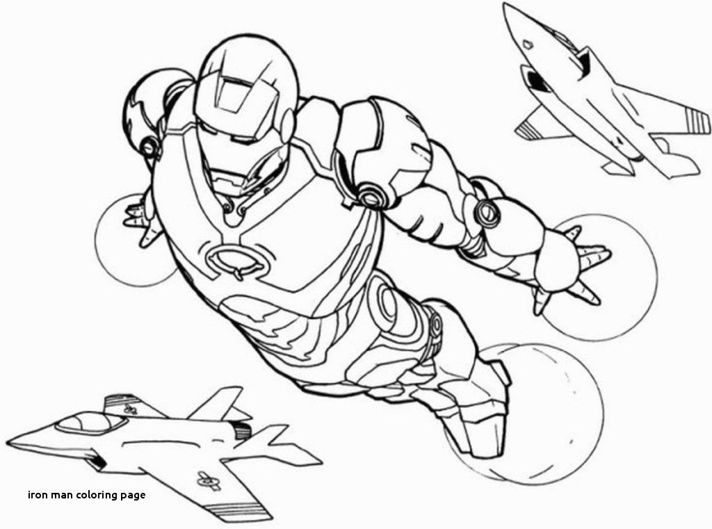 Best Iron Man Face Coloring Pages