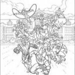 Xmen Coloring Book Exclusive X Men Coloring
