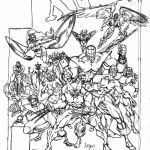Xmen Coloring Book Wonderful X Men Coloring Pages