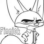 Zootopia Color Pages Beautiful Printable Finnick Zootopia Coloring Pages for Kidsint Out Disney